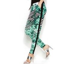 INC Palm Leaf Tapered Soft Pants, $34.99