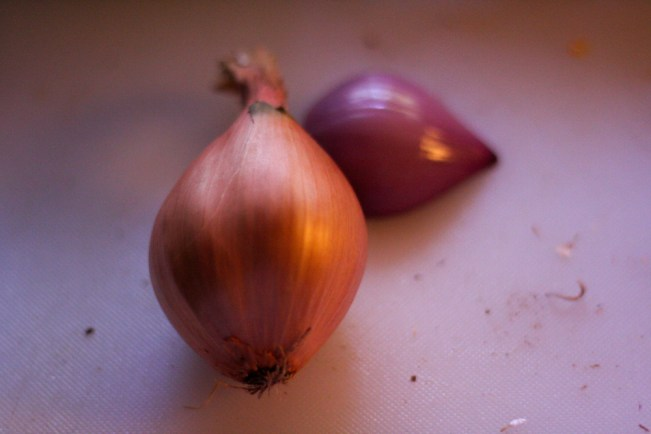 Shallots from Grocery Outlet
