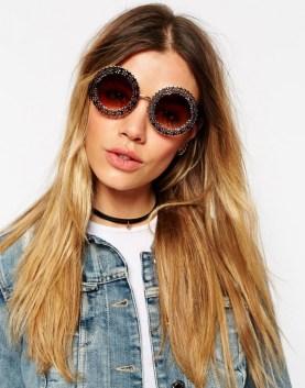 Filigree Round Sunglasses, $18.50 (were $27)