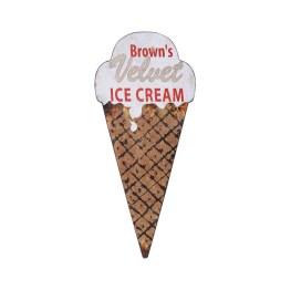 Retro Ice Cream Sign, $26.99