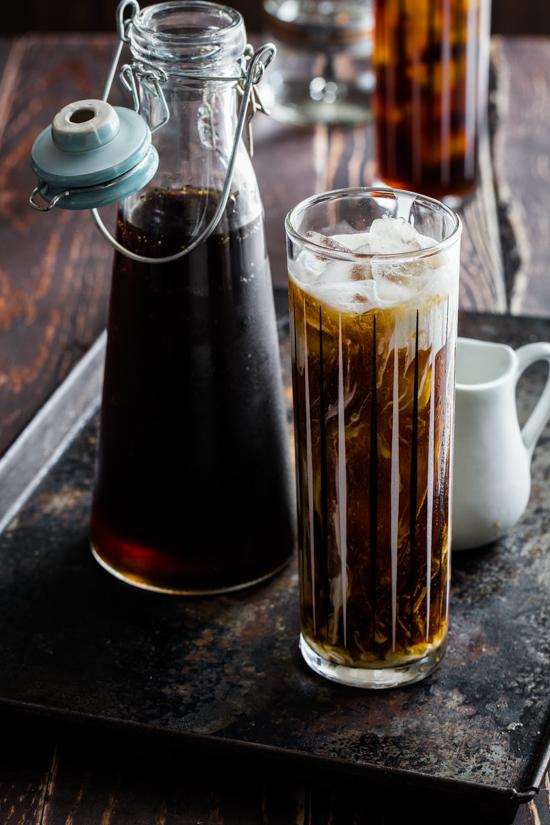 Iced Coffee Cocktail via Jelly Toast Blog