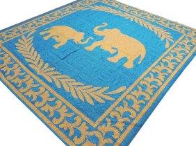 Jaipur Linen Cotton Tapestry, $27 on Etsy