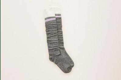 Aerie Lavender OTK Socks