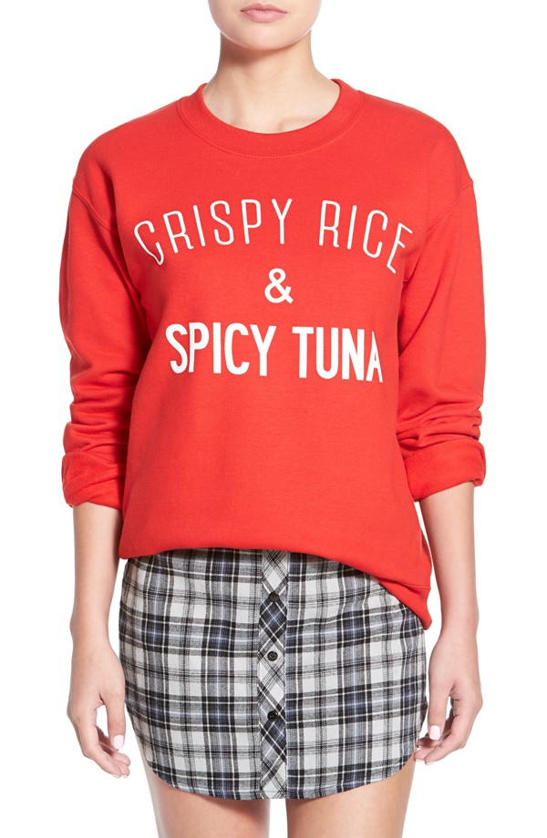 Crispy Rice Spicy Tuna Sweatshirt