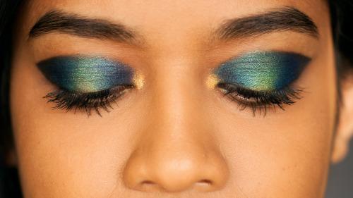 Mermaid Makeup Cat Eye - Meghan Janardan