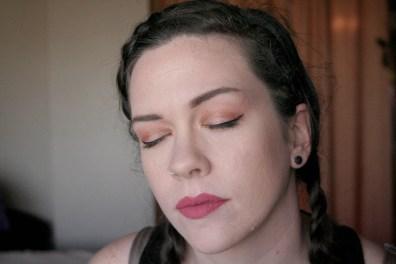 liquid lipstick longwear dusty rose mauve pink milani drugstore beauty