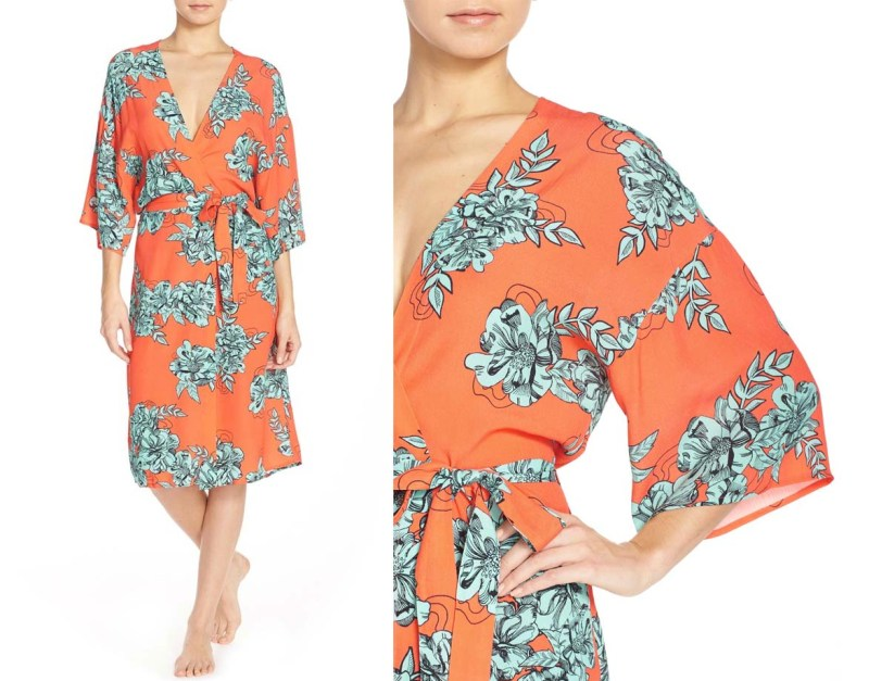 Minkpink Under Your Spell Floral Robe