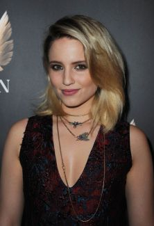 Dianna Agron Rose Gold Beauty Insect Jewelry