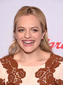 Elizabeth Moss Rose Gold Eyes