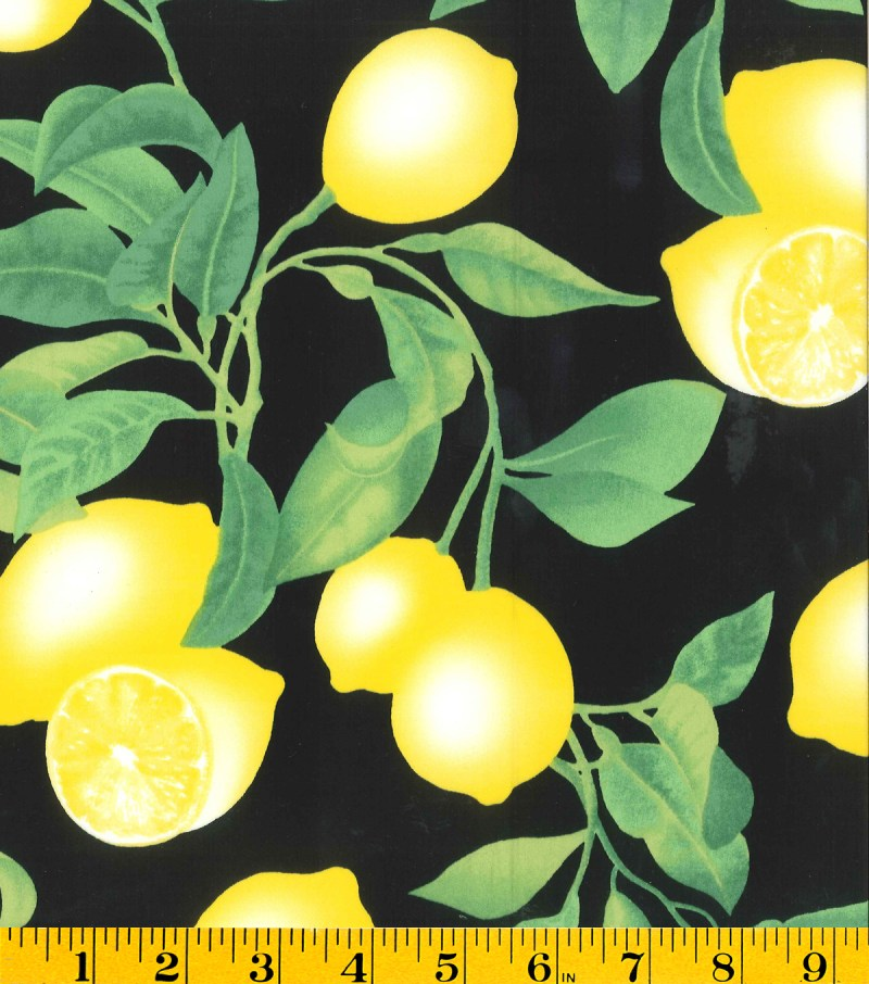 Gertie Collection Black Lemons