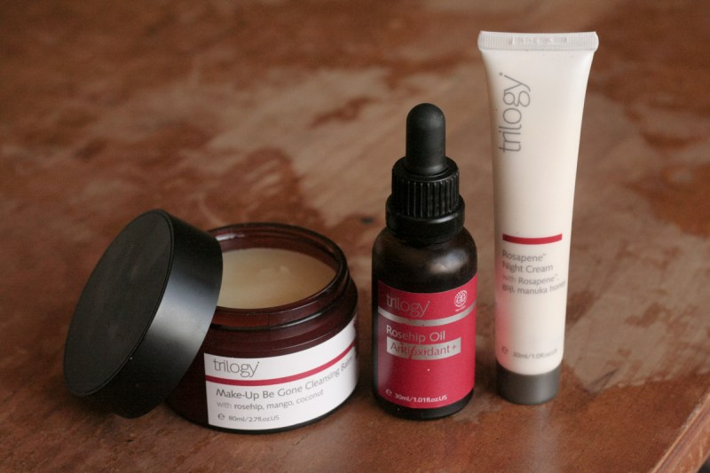 Trology Rose Hip Natural Skincare Trio