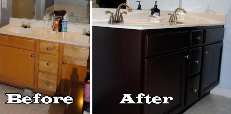 Before After Bathroom Sink