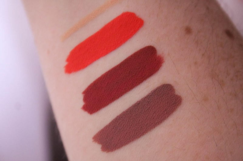 Colourpop Ultra Matte Liquid Lipstick Review - Pacific, Bumble, Trap