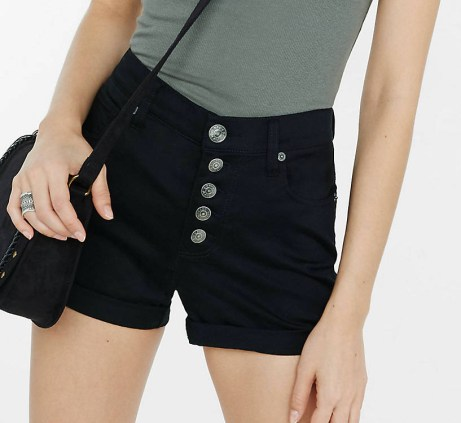 affordable fashion shorts high waist outfit ideas