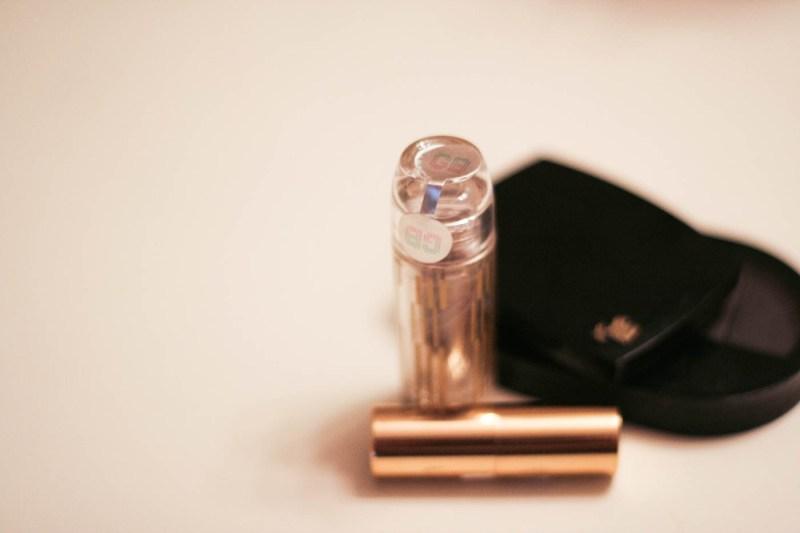 used cosmetics shu uemura lipstick