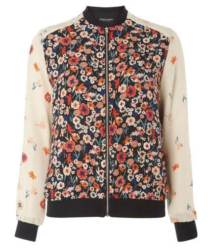 Dorothy Perkins Floral Bomber Jacket 1