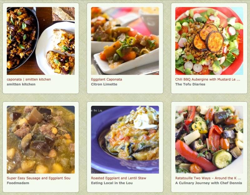Feastie Eggplant Celery Recipes