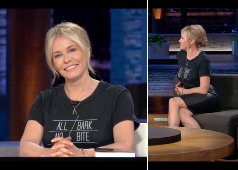 Chelsea Handler's Netflix Style: All Bark No Bite Tee