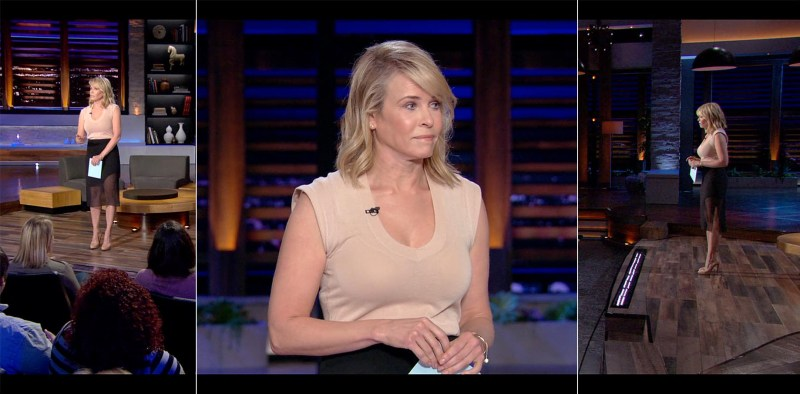 Chelsea Handler's Netflix Style: Structured & High Waisted