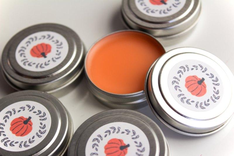 Happee Body Pumpkin Spice Lip Balm