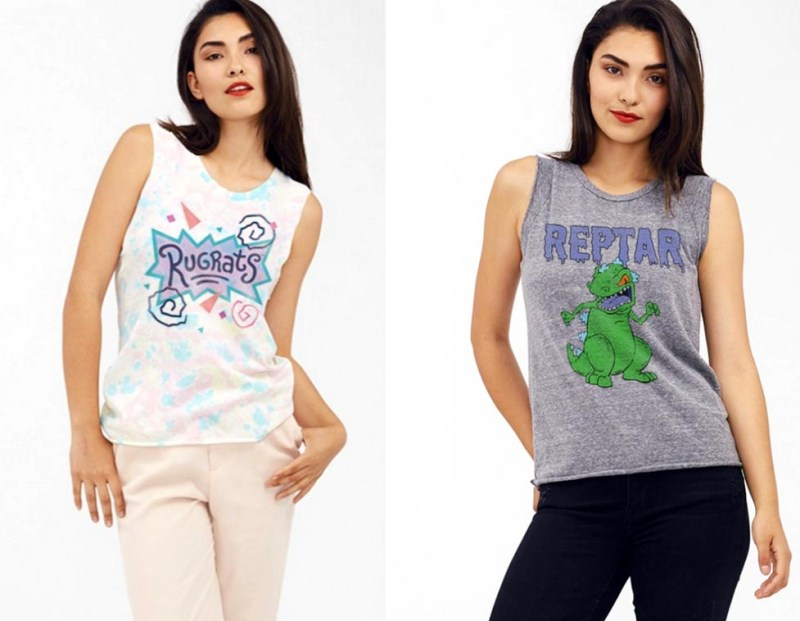 graphic t-shirts reptar rugrats nickelodeon 90s tv