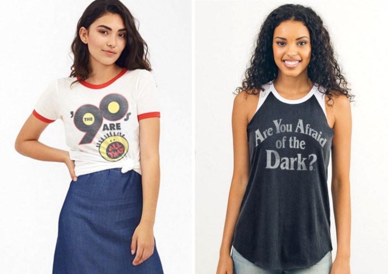 Vintage Nickelodeon x Junk Food Tees: All That and Are You Afraid of the Dark