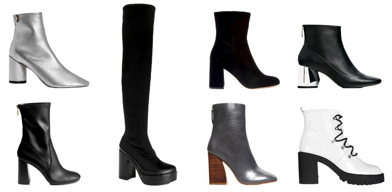 Affordable Chunky Heel Boots: Fall Fashion Trends 2016