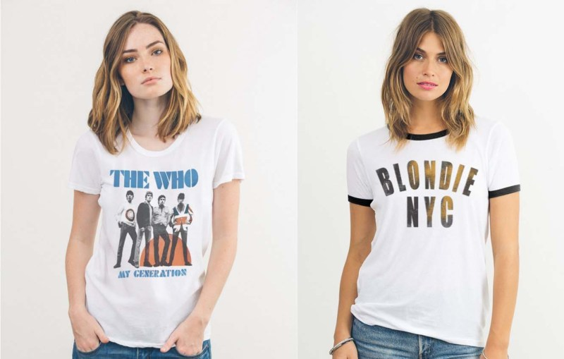 Junk Food Band T'Shirts like Chelsea Handler''s on Netflix
