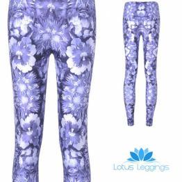 Blue Floral Leggings, $7.99 (reg. $49.99)