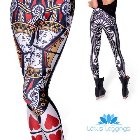 Queen of Hearts Leggings, $7.99 (reg. $49.99)