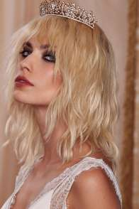Love, Courtney NastyGal Francine Jeweled Crown