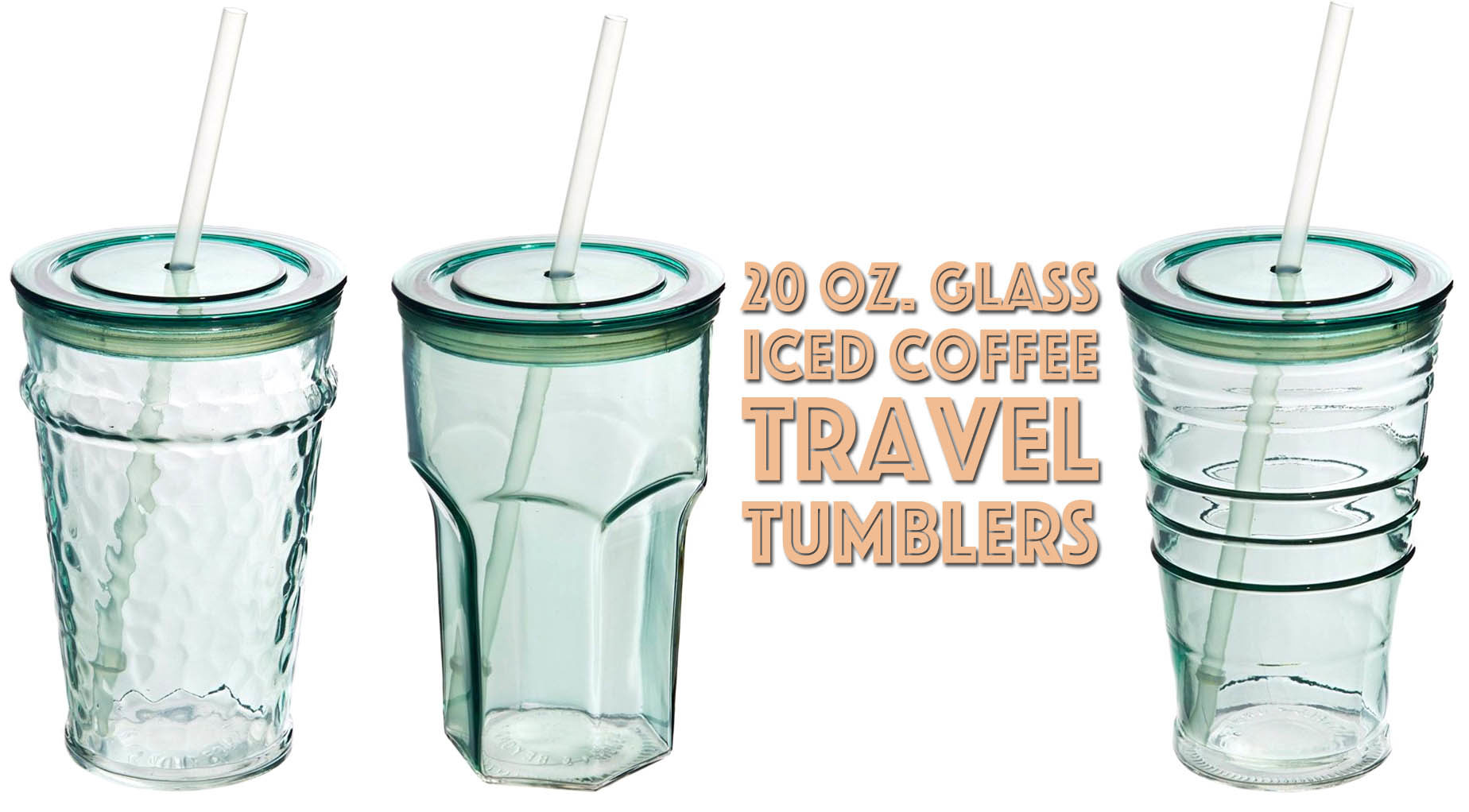 5556b1f6f4f Gift Guide Under $10: Glass Tumbler for To-Go Cold Drinks & Iced Coffee