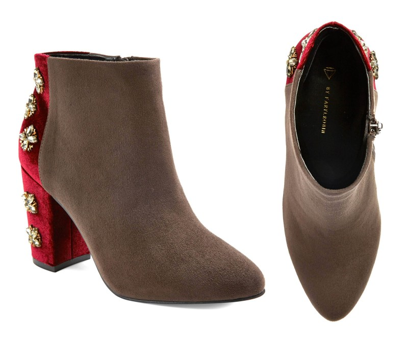 Target Boots: Diamond by Farylrobin Fawcett Embellished Heel Booties