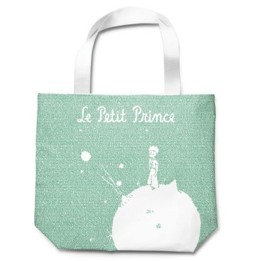 The Little Prince Litograph Tote Bag