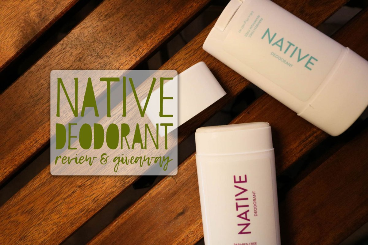Native Deodorant Review & Earth Day Giveaway