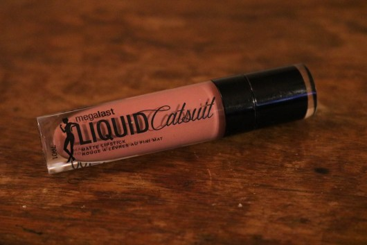 Wet'n'Wild MegaGlo Liquid Catsuit Lipstick in Rebel Rose Review