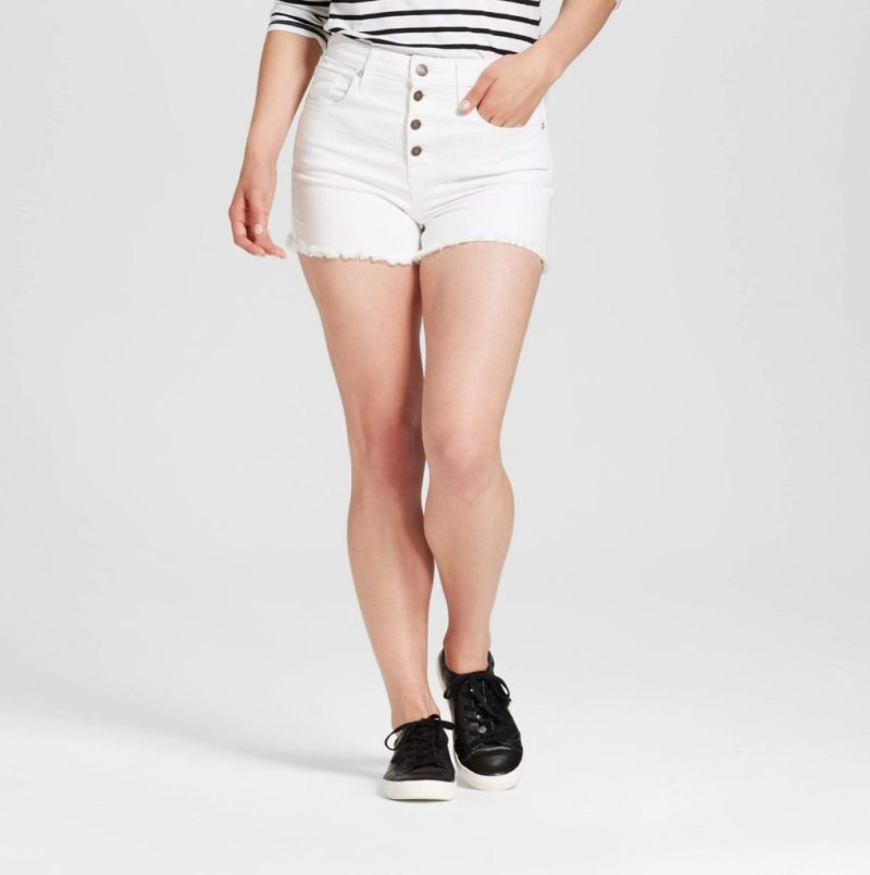 a211a2349b If you ask me, though, there is one pair of shorts that sums up my  aspirational summer style nicely: extremely high-waisted button-fly  cut-offs.