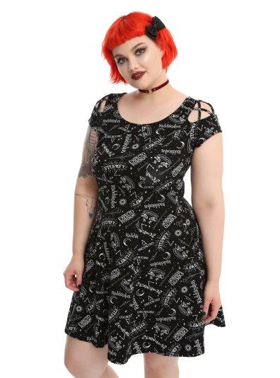 Hot Topic Harry Potter Defense of Dark Arts Dress