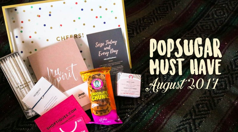 The August POPSUGAR Must Have Box is a Special One!