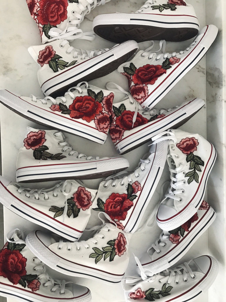 7ec9438045e4 ... amazon rose embroidered converse custom shoes from etsy 200 d9240 a7dbd