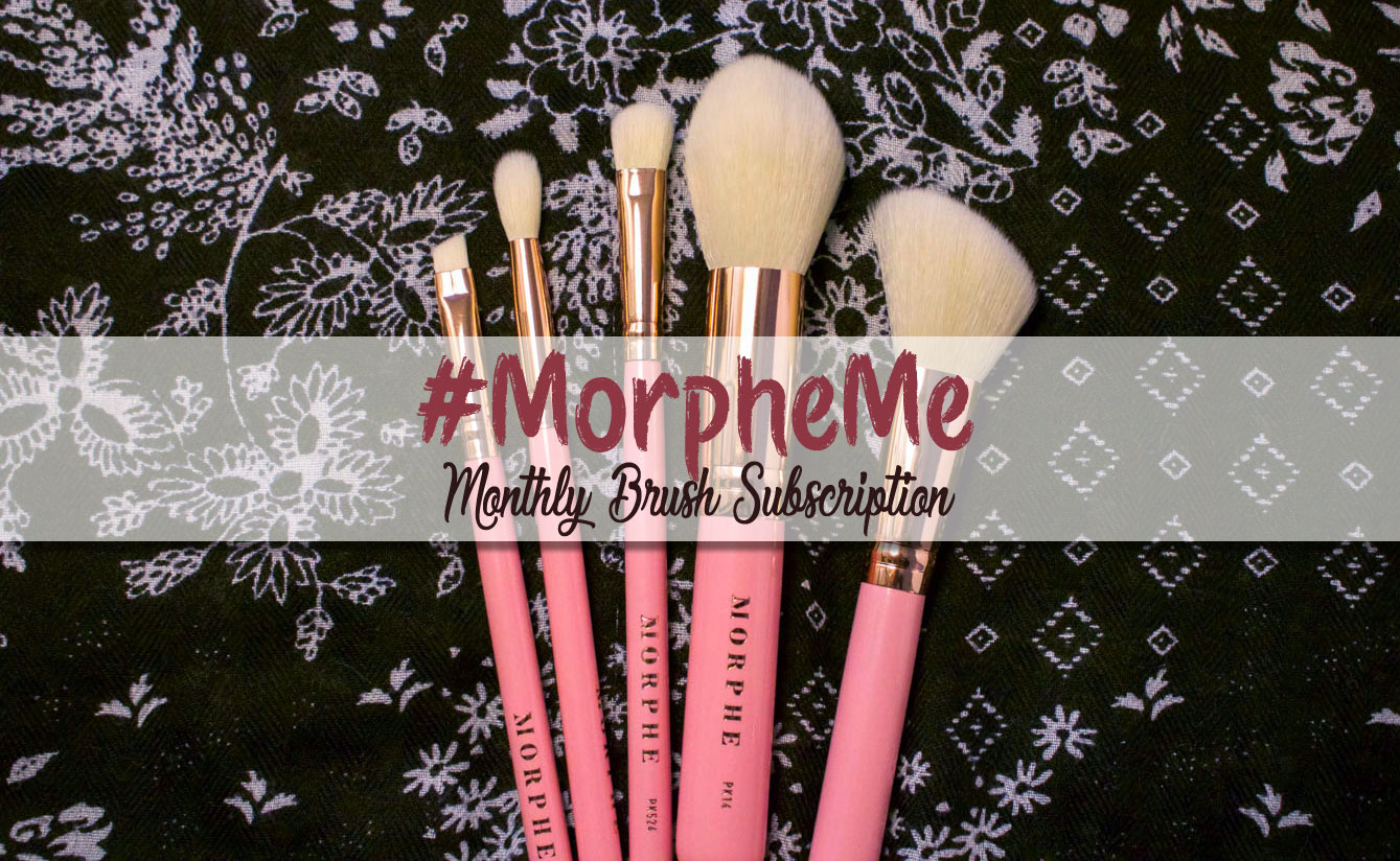 Morpheme Brush Club October 2017 Bca Pink Morphe Brushes