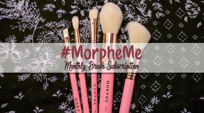 #MorpheMe Brush Club October 2017: BCA Pink Morphe Brushes
