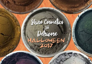 Indie Beauty: It's Halloween at Shiro Cosmetics & Detrivore!