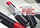 Free Shipping on Beauty Items from Macy's All Year Long
