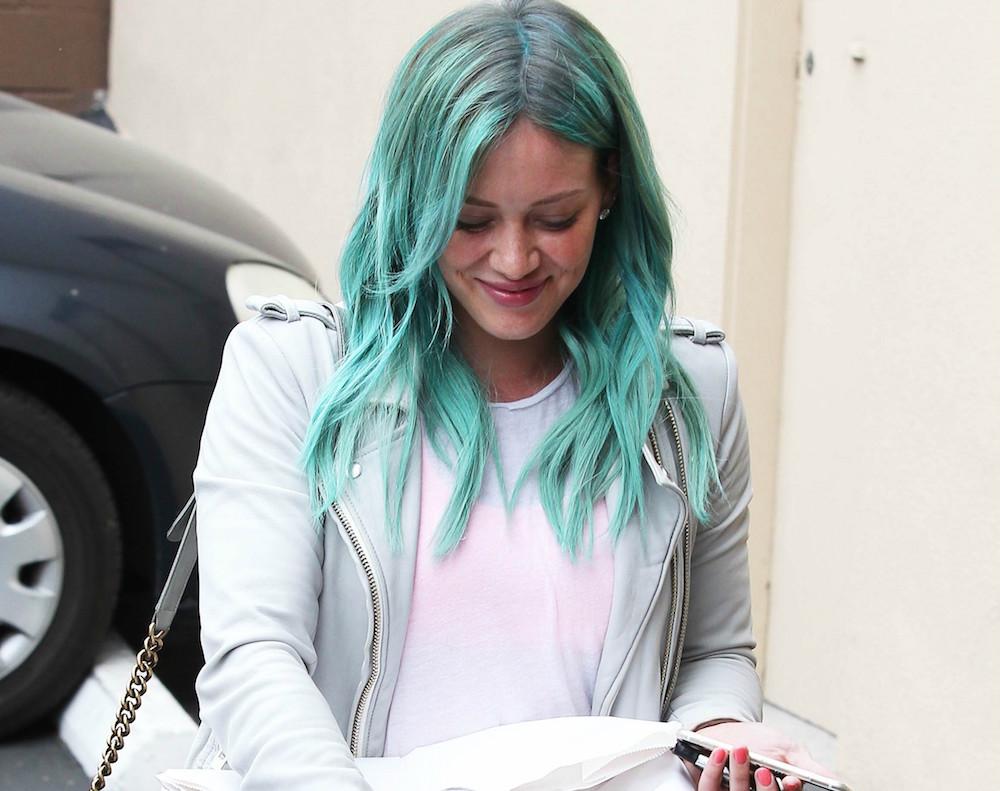 Hilary Duff Now Has Mermaid Hair And Were ObsessedBroke