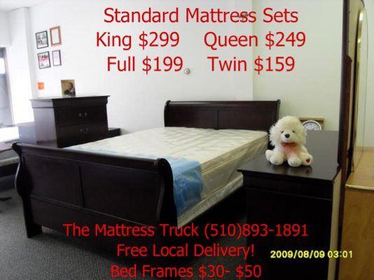 The Mattress Truck Delivering High Quality Mattresses Your Door For Only 160 San Francisco