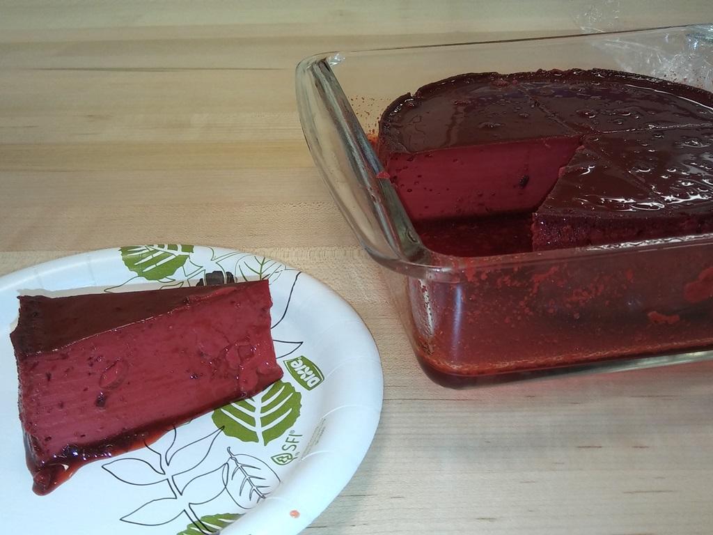 Red Velvet Cake Recipe In Pressure Cooker: Pressure Cooker Red Velvet Flan