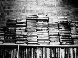"""For the """"Accomplishment"""" reader, a stack of books is an exciting challenge"""