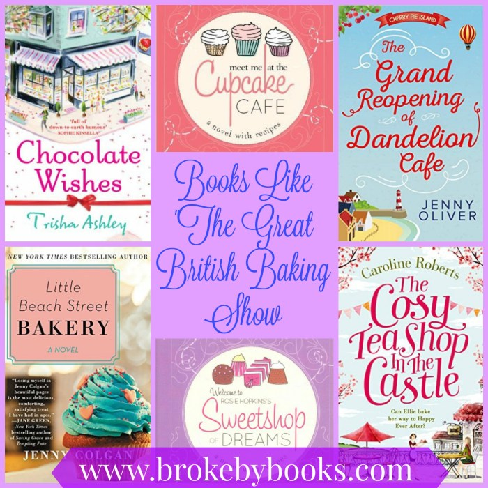 books to read if you love the great british baking show