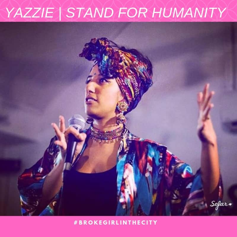 YAZZIE _ STAND FOR HUMANITY